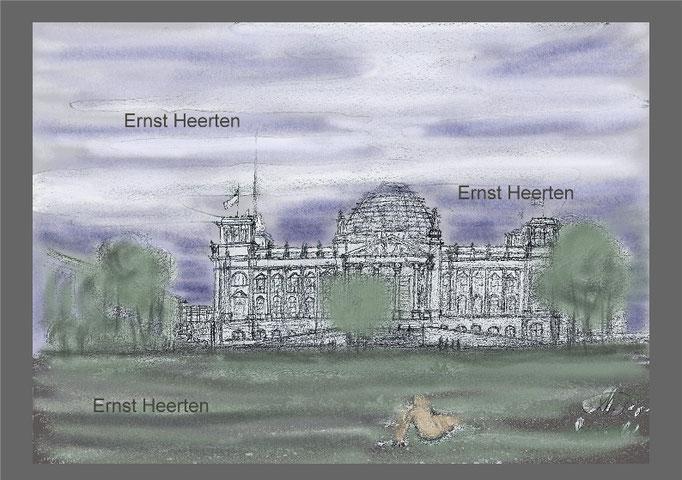 Berlin - Reichstag               /   125,- €