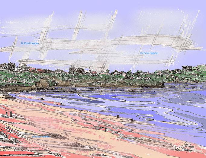 2.17. - Devon - Torquay-felsenküste / 120,- @