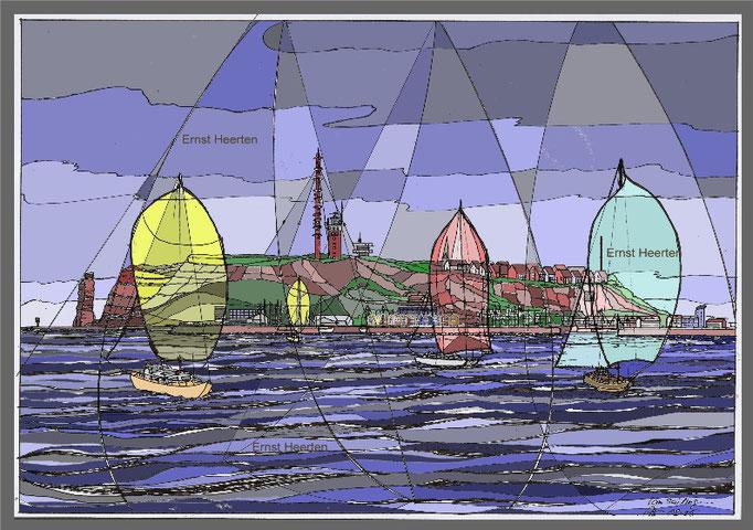 2.8. I'm sailing .. Rod Stewart vor Helgoland  / 220,-€