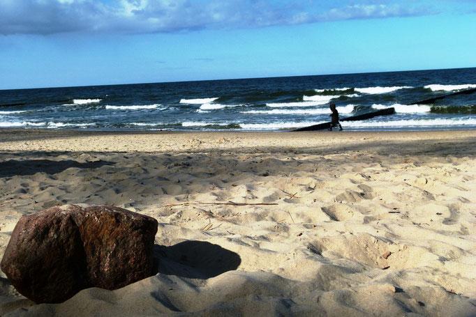 der schönste Sandstrand ist in Koserow!