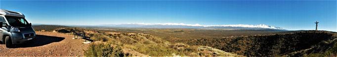 Blick auf die Andenkette