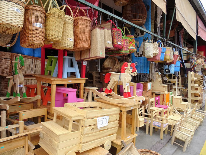 Auf dem Markt 'Puerto de Frutos'