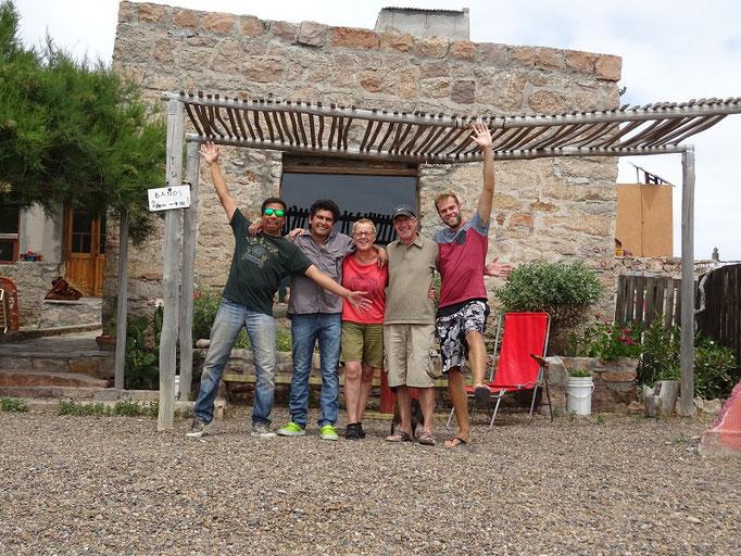 Antonio - Eduardo - Ursula - Robert - Marco