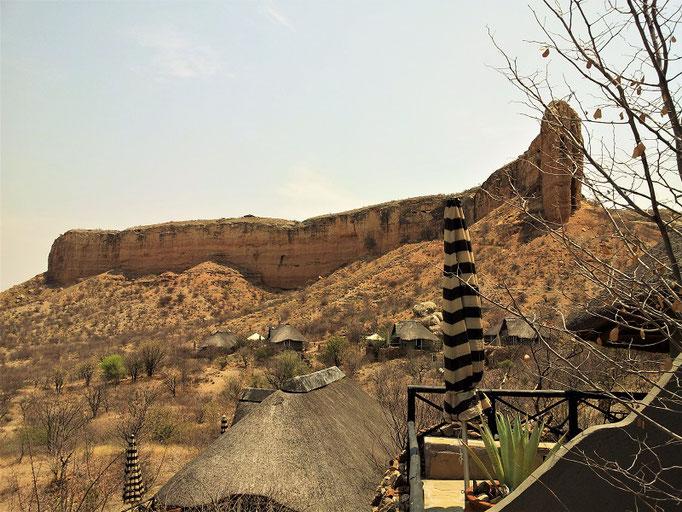 Lodge mit Eagels-Nest auf dem Berg