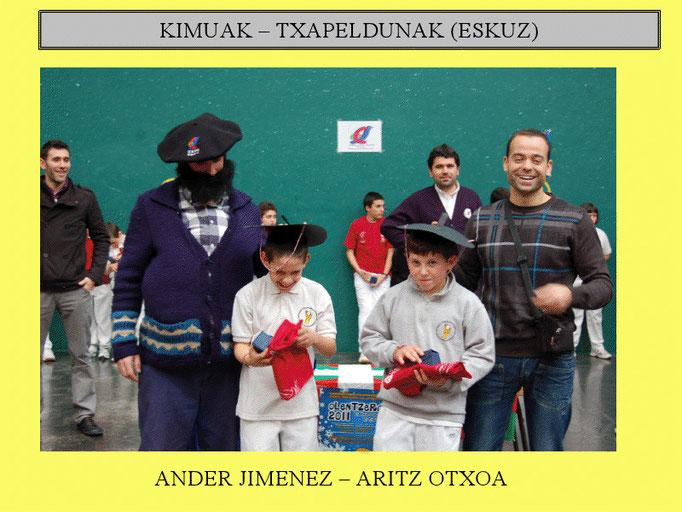 ANDER JIMENEZ - ARITZ OCHOA