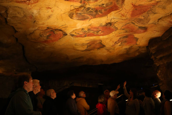 Cueva de Altamira en Cantabria.