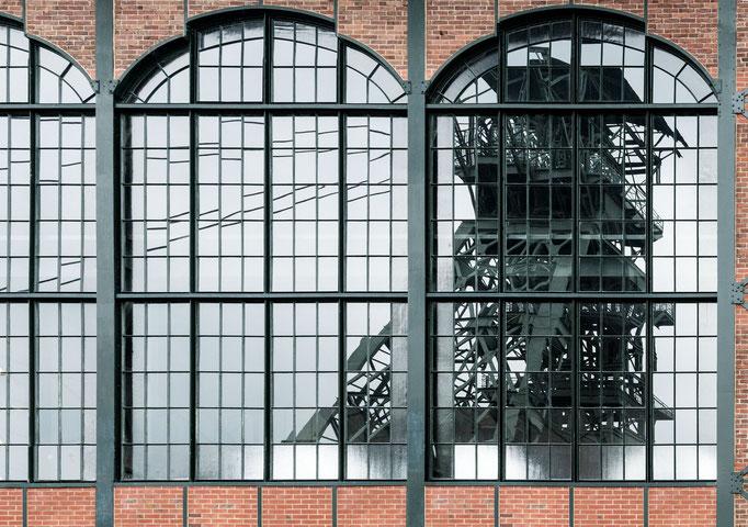 Ruhrpott - Zeche Zollern in Dortmund - mit Jugendstil-Elementen