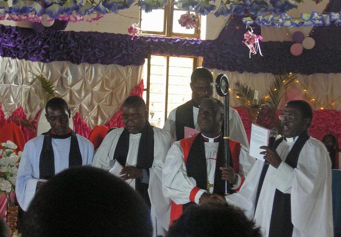 Bischof Makaya, anglikanische Kirche DWT
