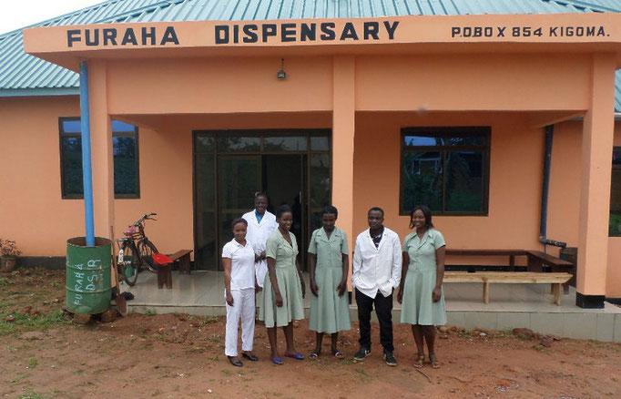Mitarbeiter Gesundheitsstation Kalinzi