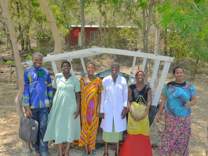 Das Team der Station wohnt in Bugamba