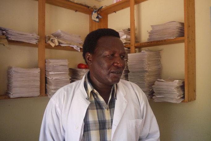 als medical Assistent arbeitet Gideon schon 25 Jahre für die MMS