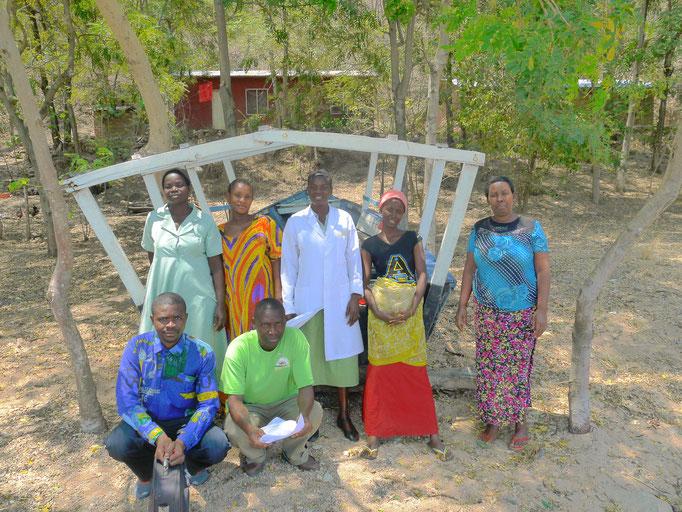 Mitarbeiter Gesundheitsstation Bugamba