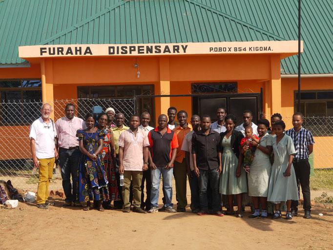 Verantwortliche der Community aus Mlangala
