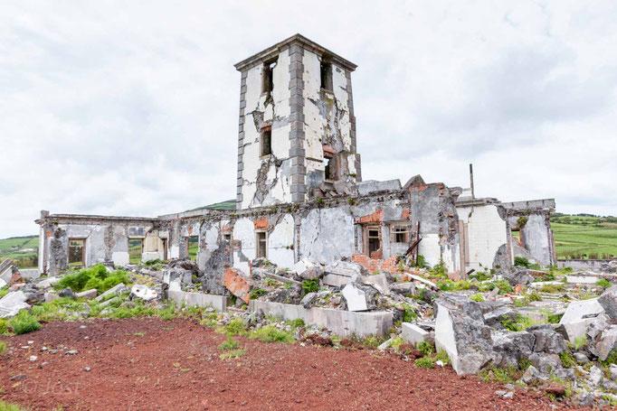 Leuchtturm auf den Azoren Faial
