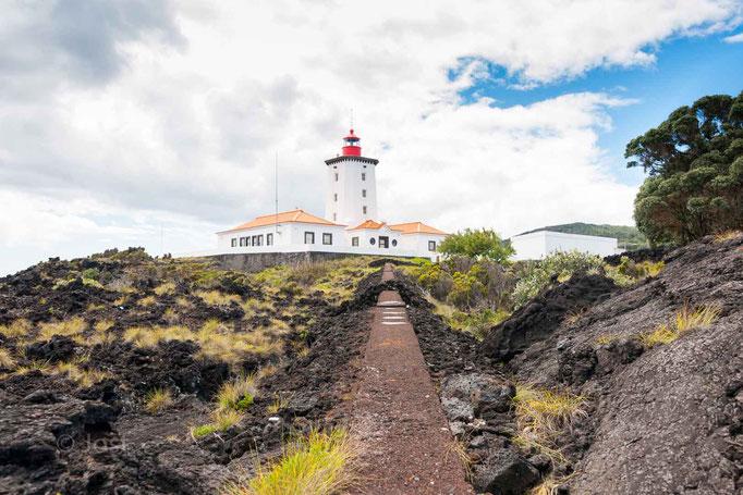 Leuchtturm auf den Azoren Pico