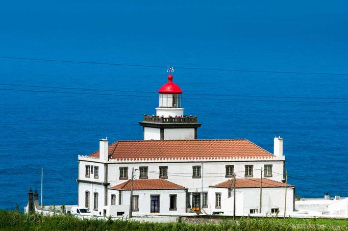 Leuchtturm auf den Azoren Sao Miguel
