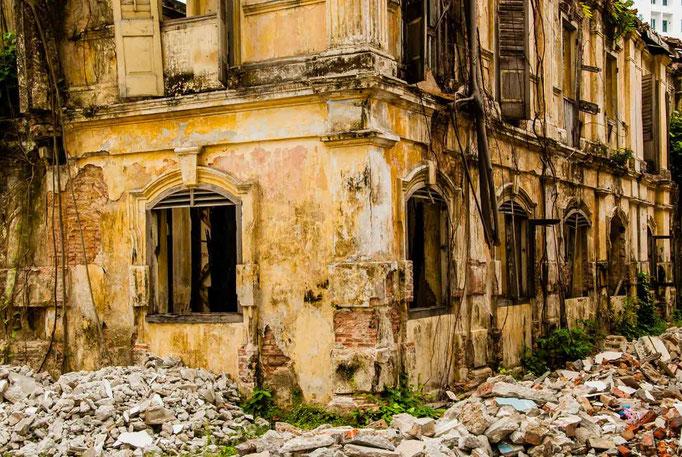 Penang Malaysia Old Heritage Houses
