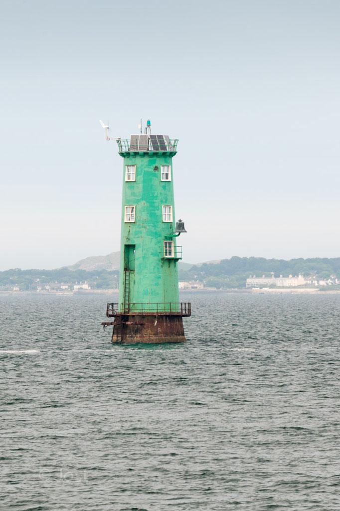 Leuchtturm in der Bucht von Dublin