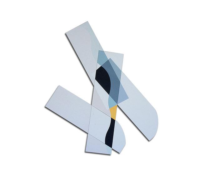 Acrylique sur toile - 130x130x4 cm