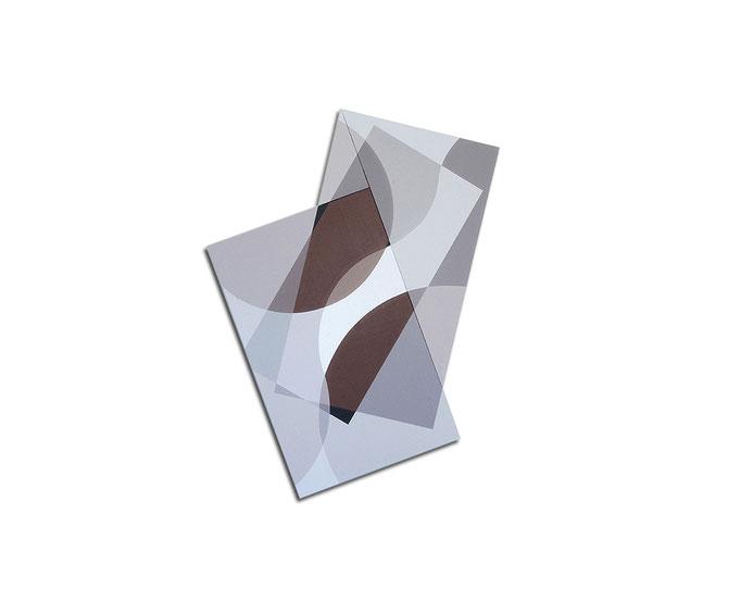 Acrylique sur toile - 110x105x4 cm