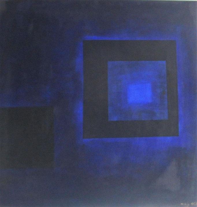 """""""Schlafenszeit"""", Acryl auf Leinwand, 70 x 70 cm"""