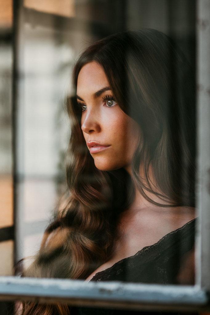 Fenster Portrait