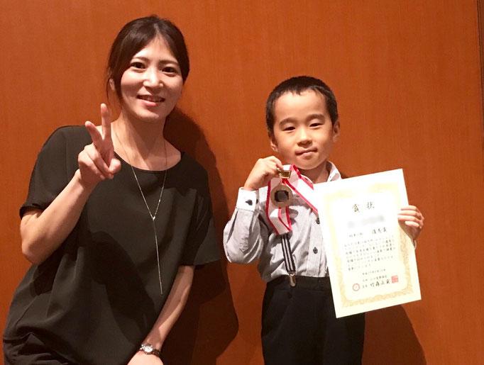2017年 九州山口ジュニアピアノコンクール 生徒さんが入賞しました