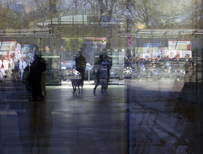 Spiegelungen I   2004 | 37 x 28 cm