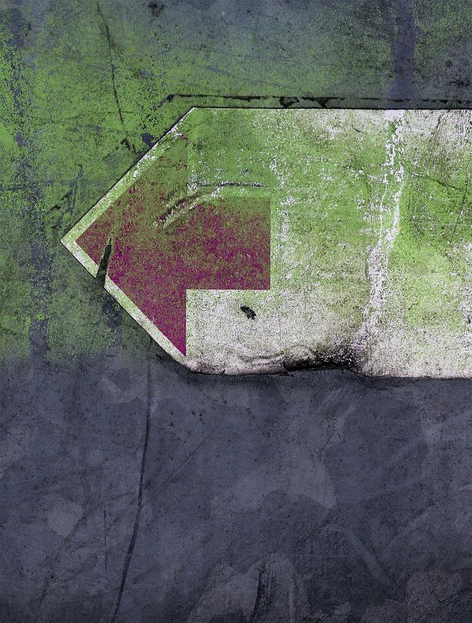 Zeichen V   2012 | 28 x 37 cm