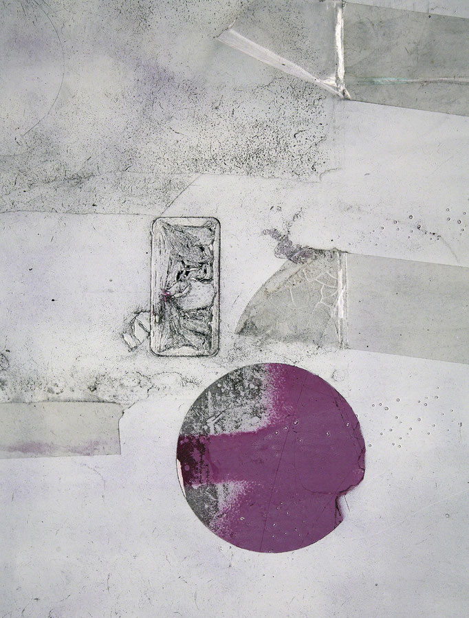Rote Sonne   2006 | 28 x 37 cm