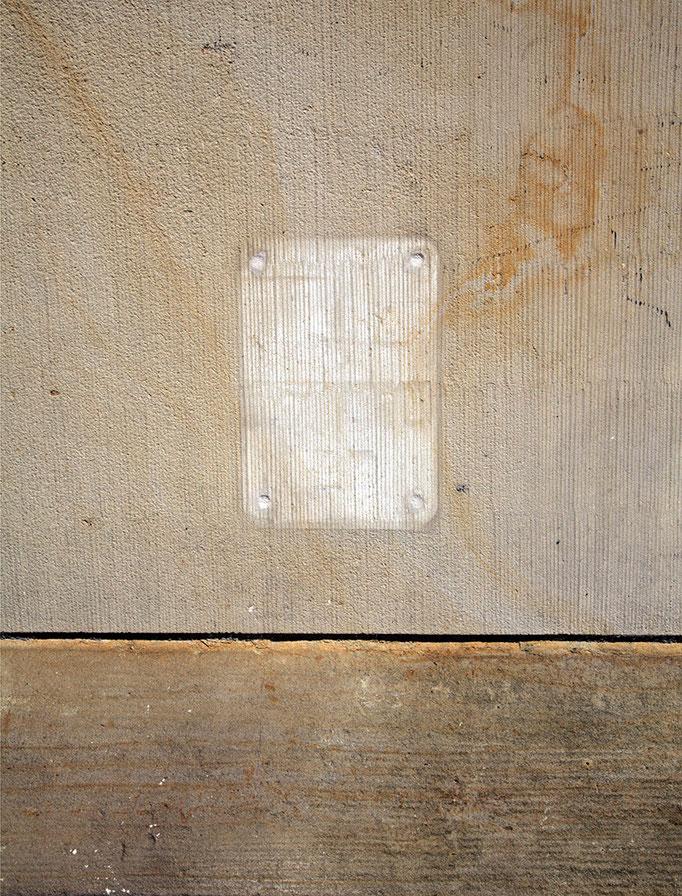 Ästhetik der Fehlstelle II   2008 | 28 x 37 cm
