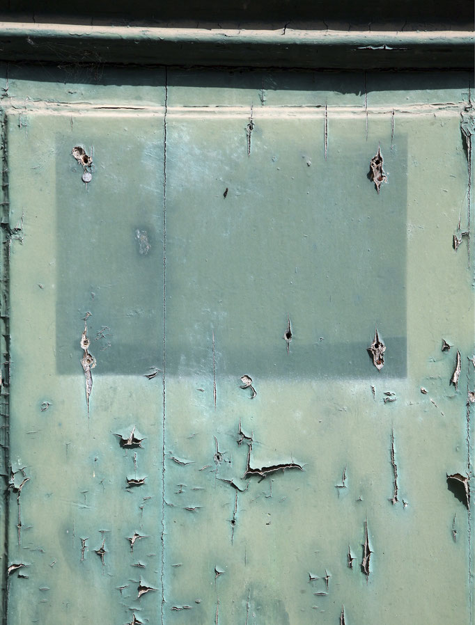 Ästhetik der Fehlstelle   2006 | 28 x 37 cm