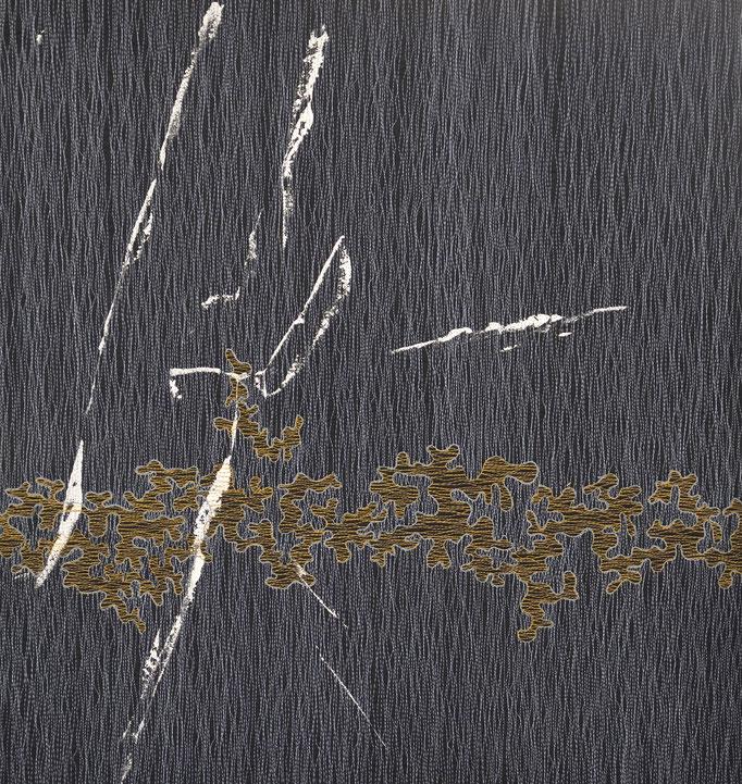 Struktur und Raum 5, 2017, 53 x 51 cm