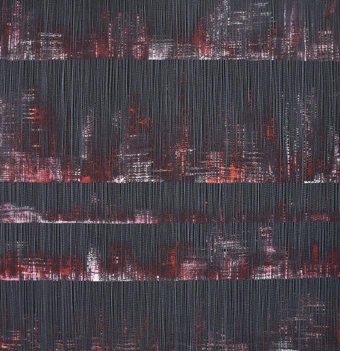 Linear 5, 2017, 68 x 67 cm