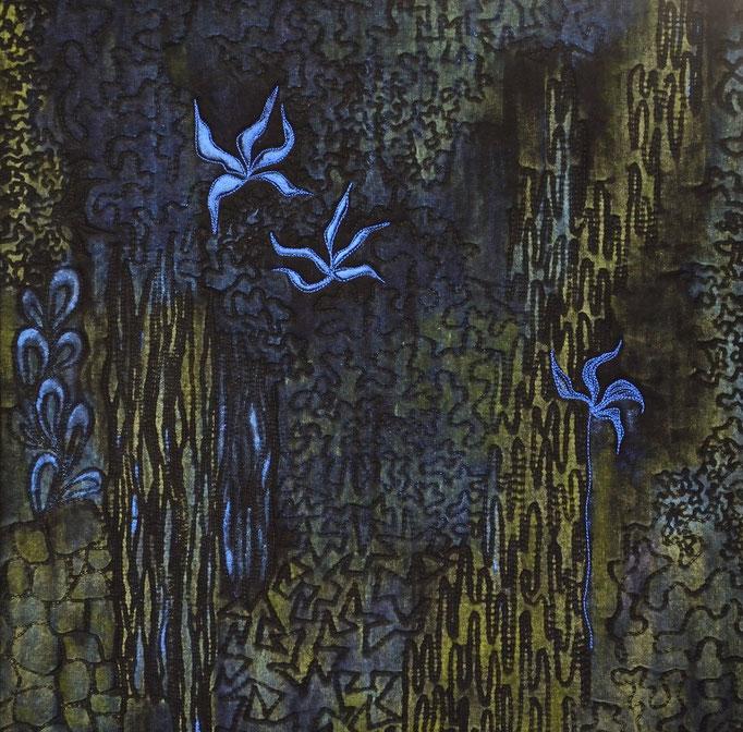Flora 10, 2010, 40 x 40 cm
