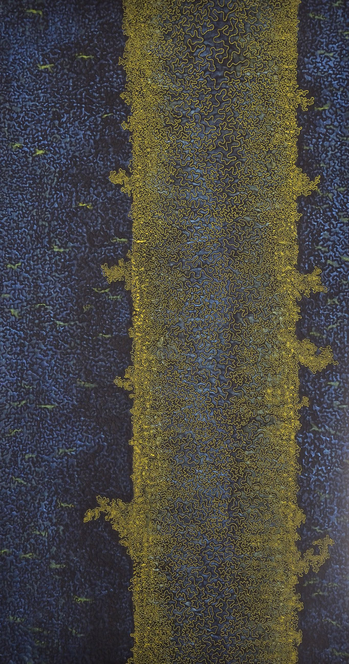 Spuren des Lebens 5, 2009, 98 x 53 cm [verkauft]