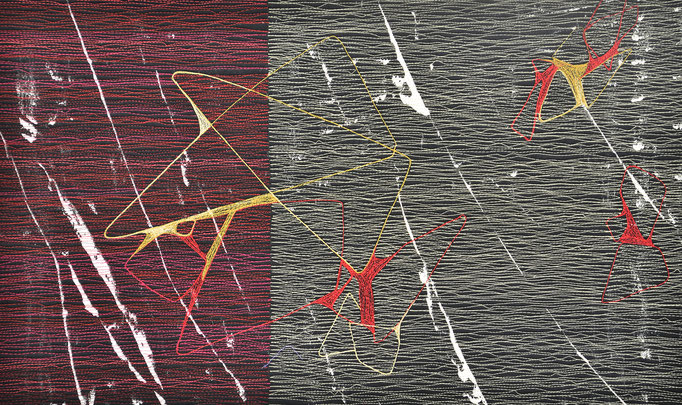 Räume 1, 2017, 30 x 52 cm