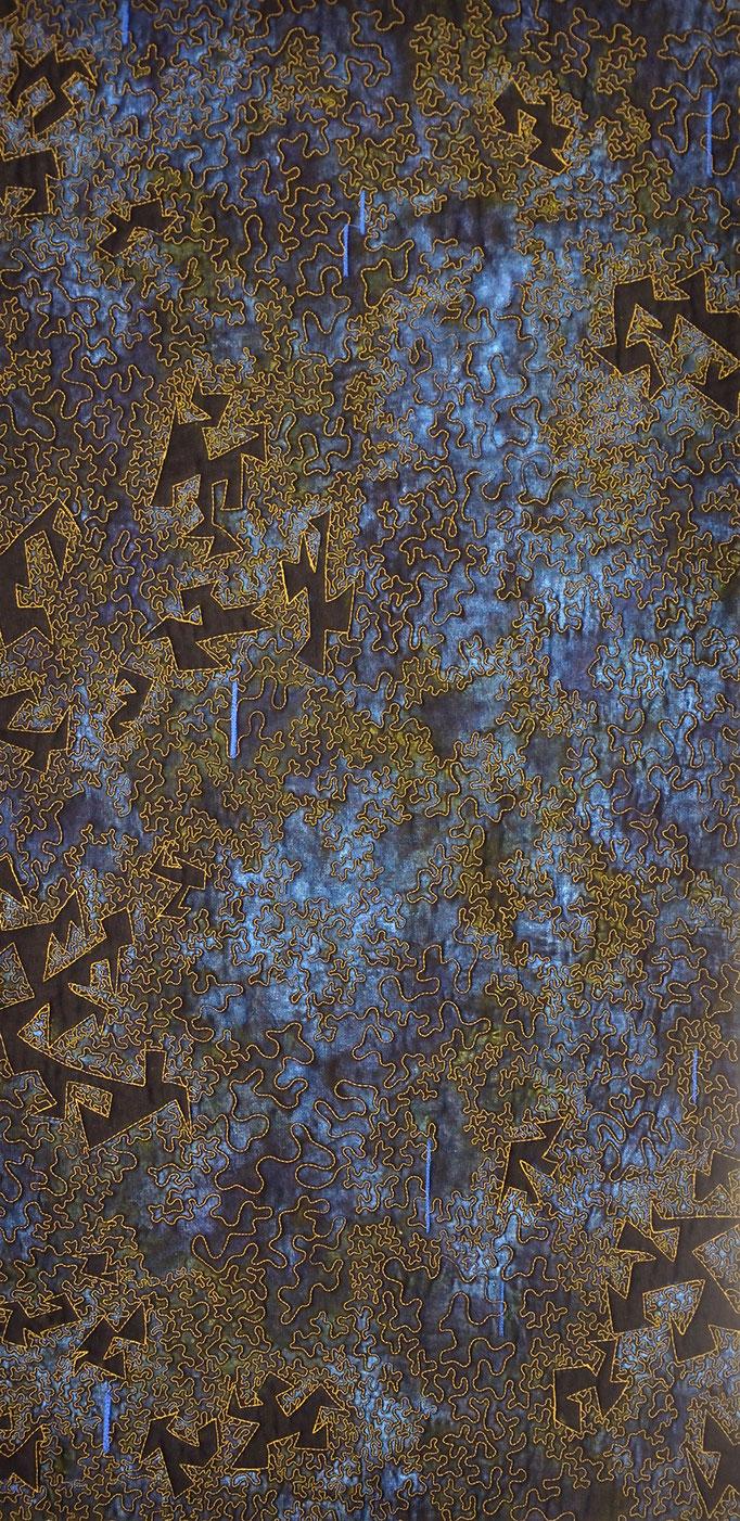 Die Zeit 3, 2011, 40 x 80 cm [verkauft]