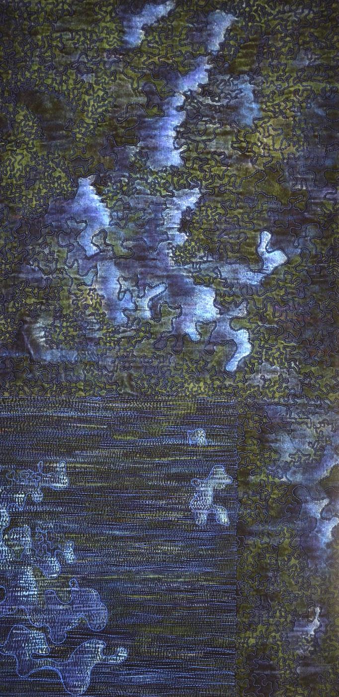 Struktur und Raum 2, 2013, 84 x 43 cm