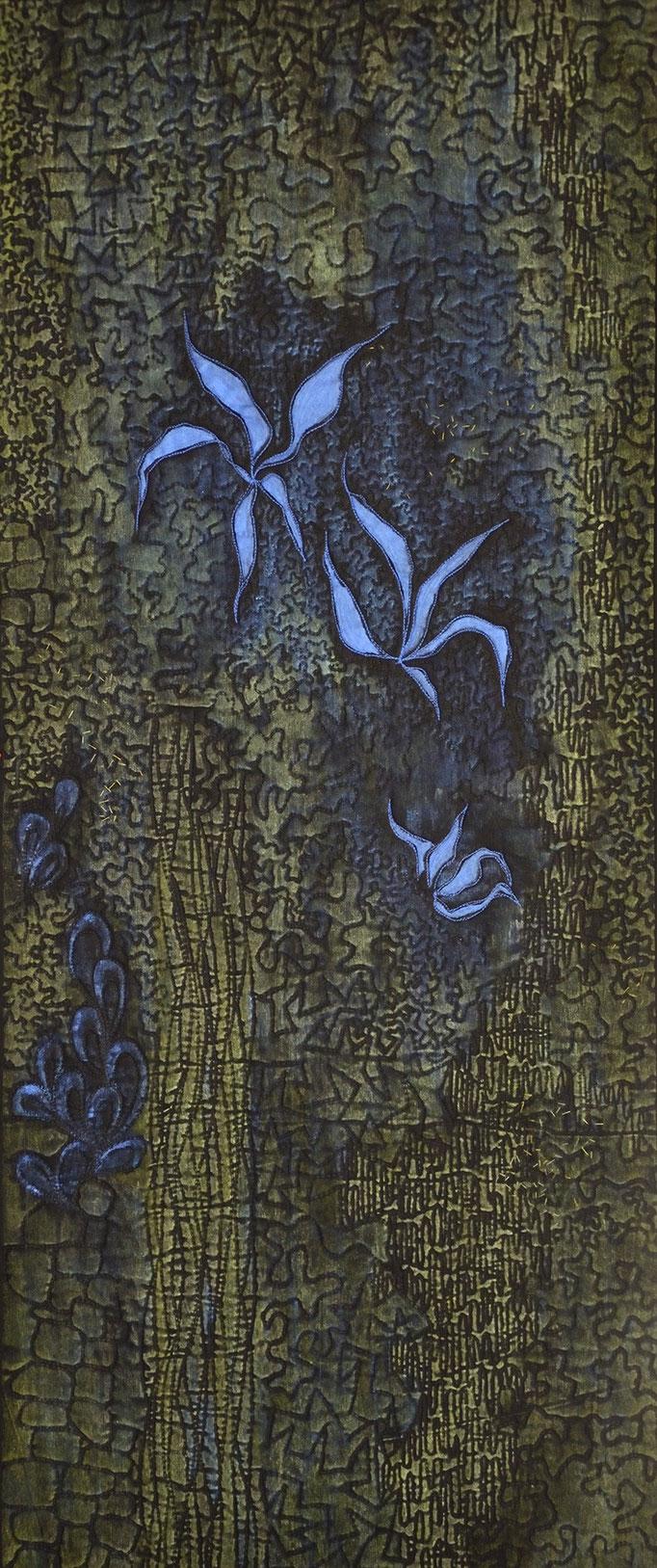 Flora 9, 2010, 94 x 40 cm