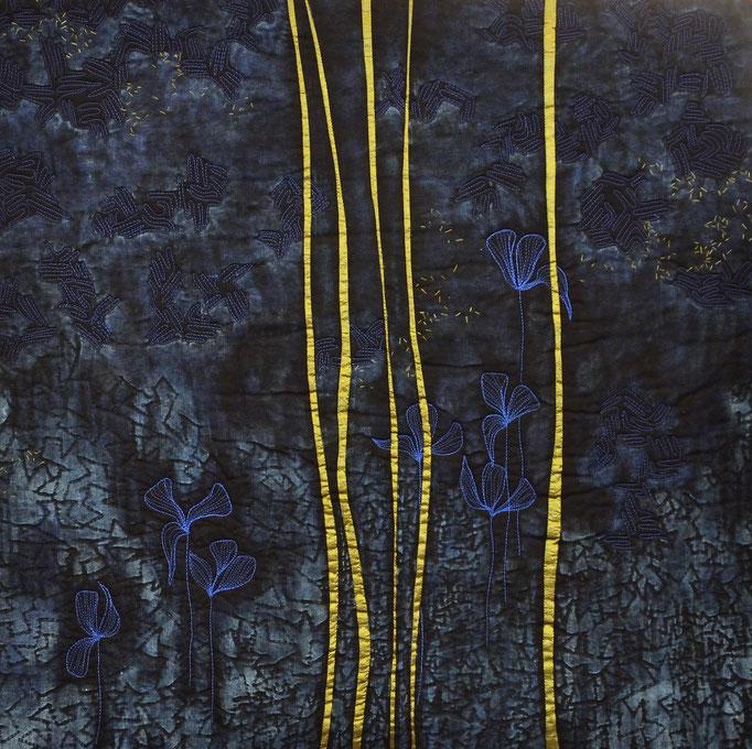 Flora 8, 2010, 62 x 62 cm
