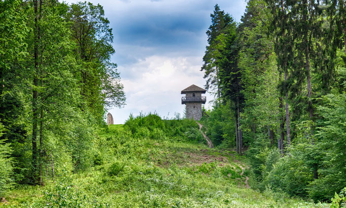 Limesturm bei Großerlach-Grab © Verein Deutsche Limes-Straße, Erik Dobat