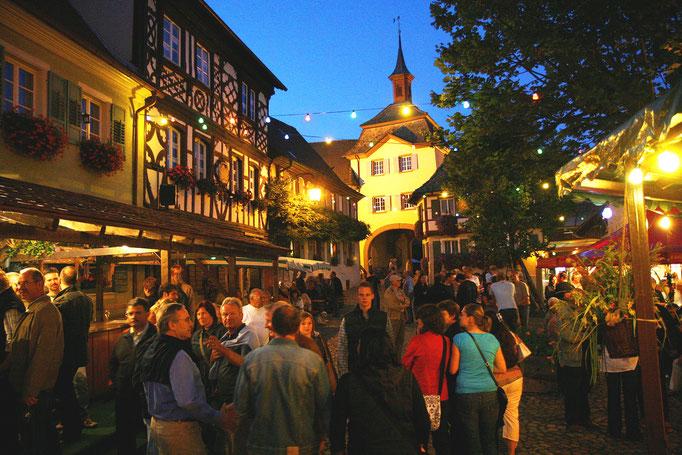 Immer was los an der Badischen Weinstraße © Scheffel STG