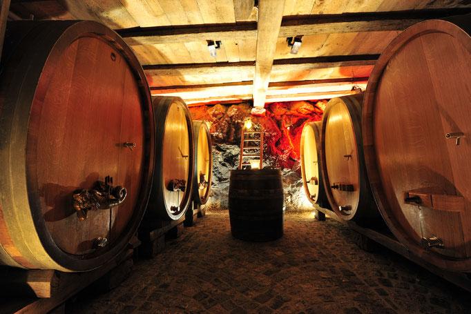 Geheimnisvolle Weinkeller wollen erkundet werden © Weingut Danner, Durbach