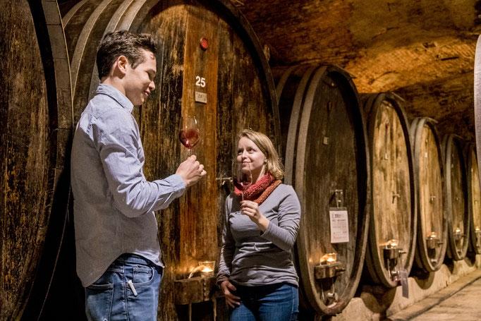 Weinprobe © STG Keller