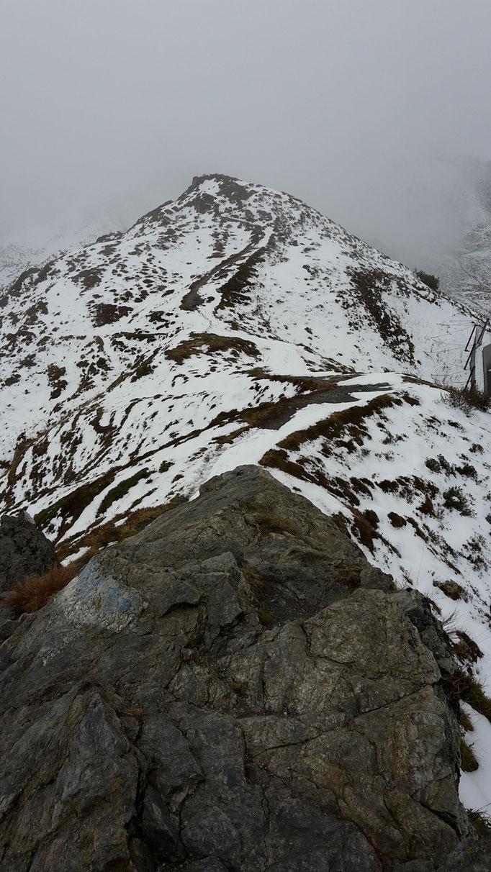 Der Golmer Höhenweg im Schnee