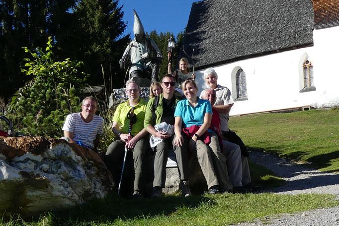 An diesem Brunnen haben wir vor JAhren schon mal ein Gruppenfoto gemacht