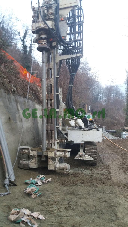 Consolidamenti - Berlinese per manutenzione conservativa canale idroelettrico