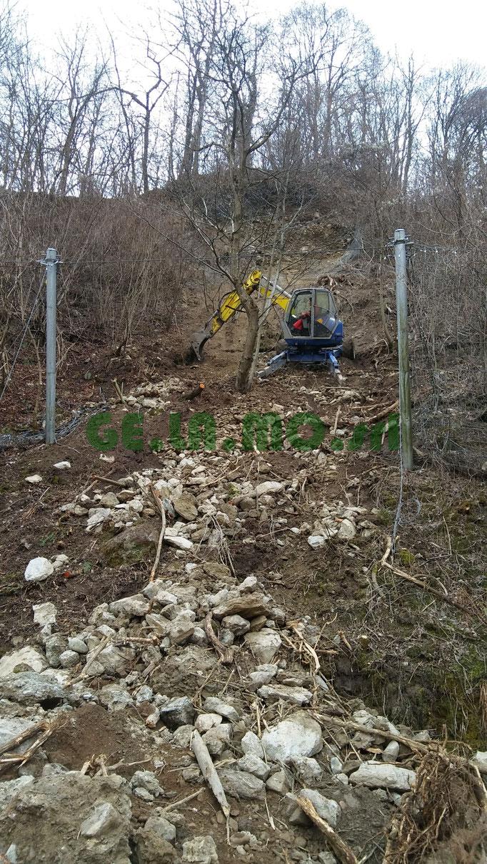 Ripristino barriera paramassi - Piemonte CN
