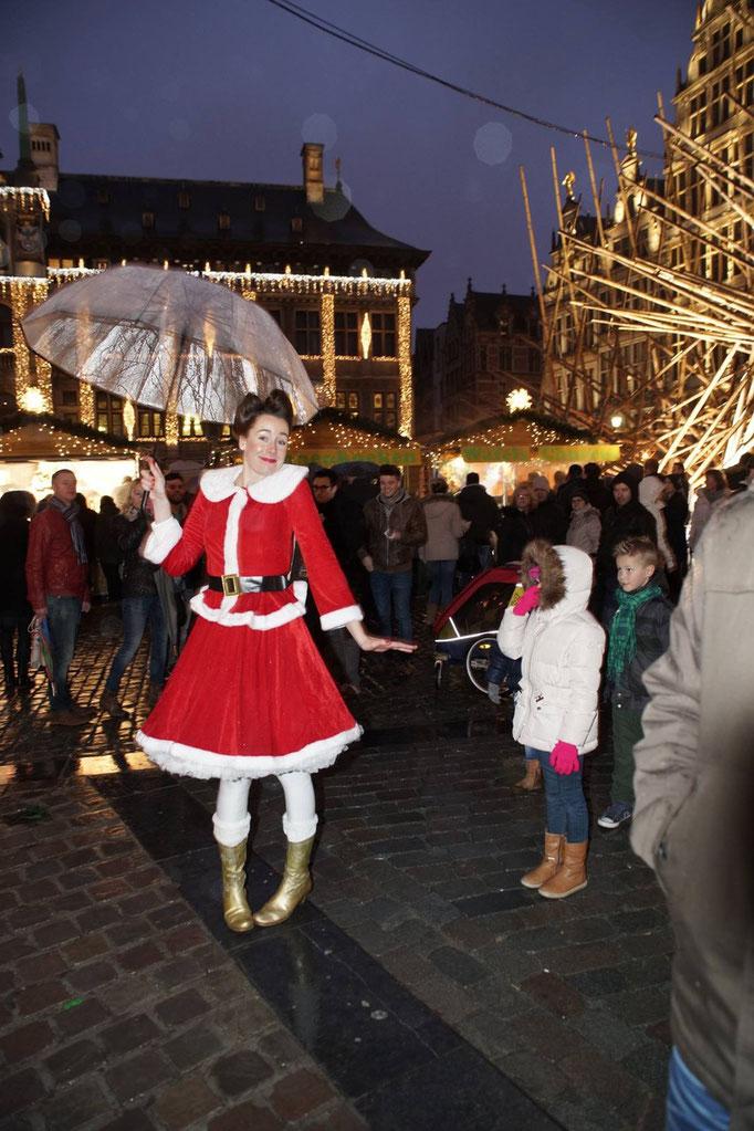 straattheater kerst